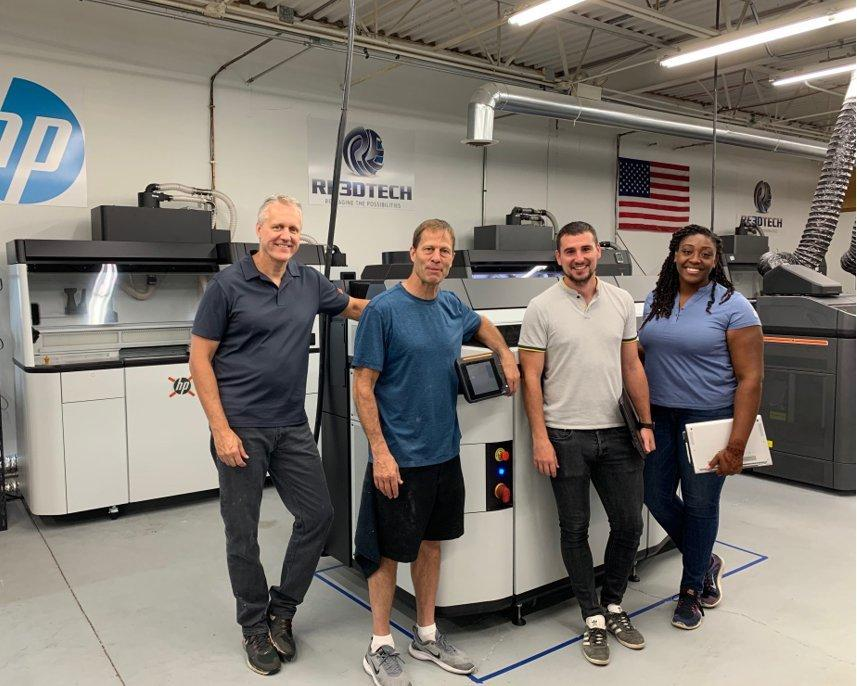 Installing One Of The First HP MJF 3D 5210 Printing Solution